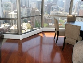 Condo Hardwood Flooring Installation - 1310 North Ritchie Court, Chicago, IL (Gold Coast)