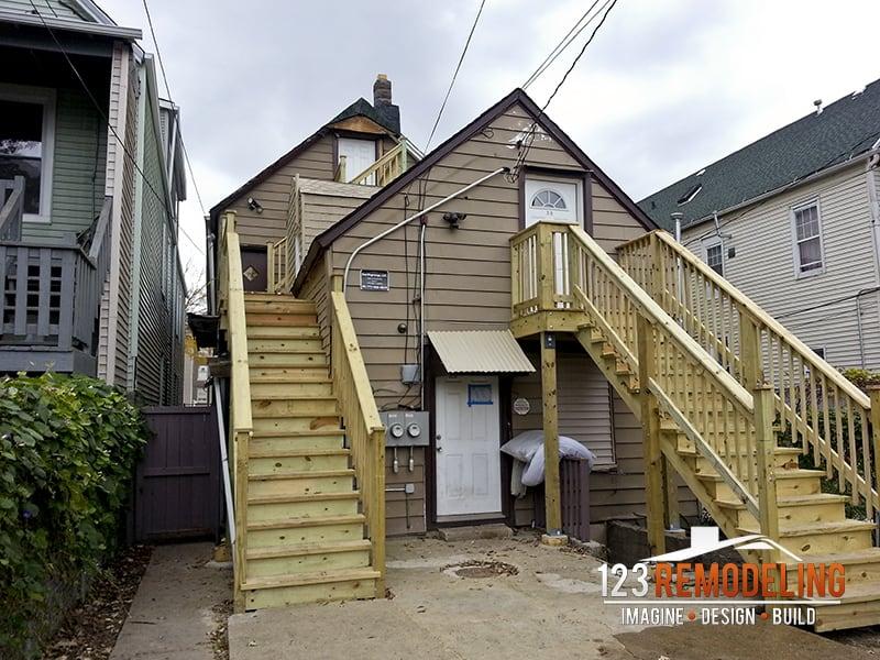 Wrigleyville Staircase