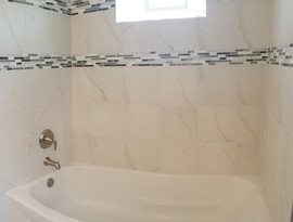 oak park bathroom renovation gallery