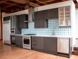 Kitchen Remodel - 400 S Green St, Chicago (Near West)