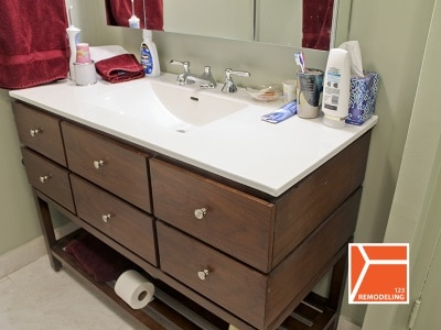 505 n lakeshore bathroom remodel