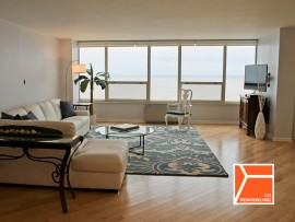 Hardwood Flooring Installation - 6101 N Sheridan, Chicago, IL (Edgewater)