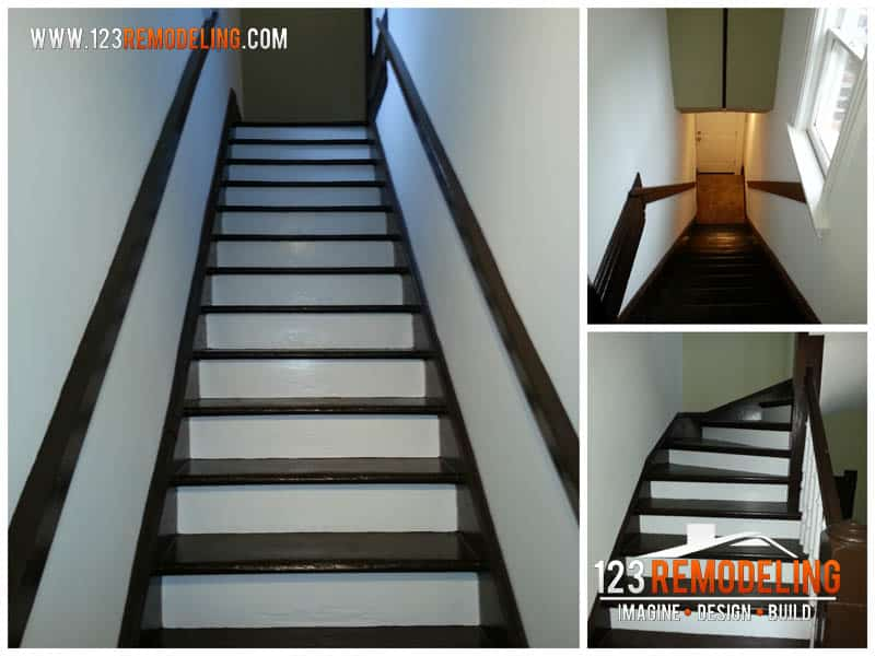 Interior Staircase Refinishing Project
