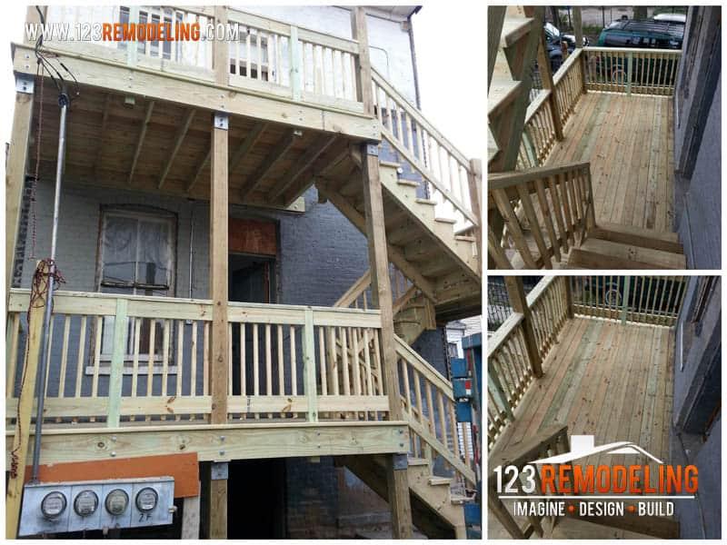 Exterior Deck Build Out
