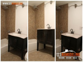 Roscoe Village Garden Bathroom Remodel