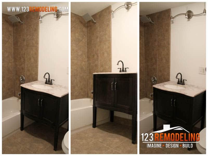 Roscoe Village Garden Bathroom Remodel