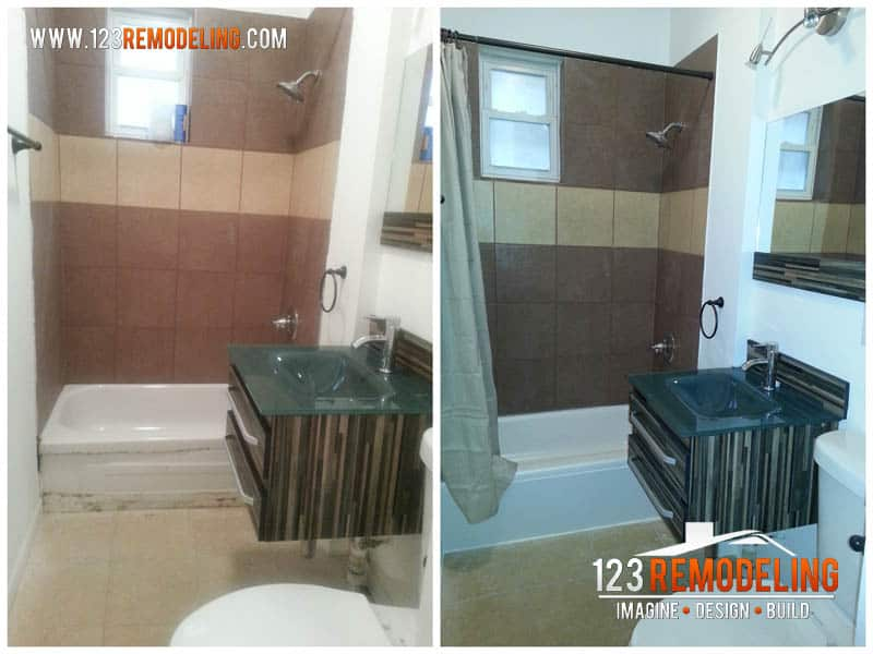 Small Bathroom Remodeling Project