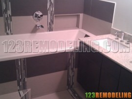Condo Bathroom Remodel - 165 N Canal St, Chicago, IL (West Loop)