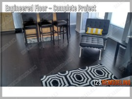 Downtown Chicago Engineered Hardwood Flooring