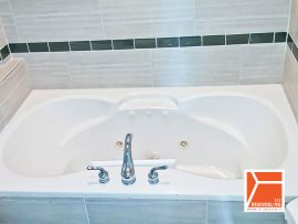 Condo Bathroom Remodel - 1049 N. Hermitage Ave, Chicago, IL (Wicker Park)