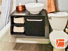 Condo Bathroom Remodel - 4731 N. Kenmore Ave, Chicago, IL (Uptown)