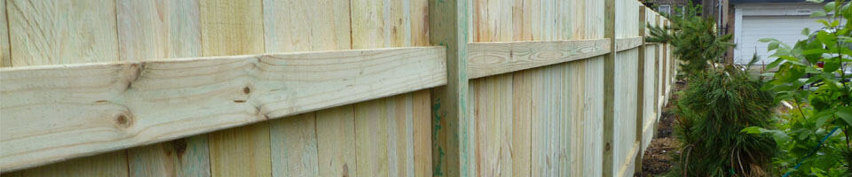 Fence Installation & Repair
