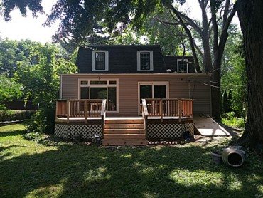 Edgebrook Wooden Deck Renovation