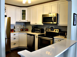 Condo Kitchen Remodel - 111 W Maple St, Chicago, IL (Gold Coast)