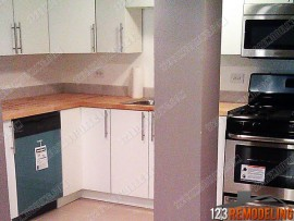 Lakeview Kitchen Installation