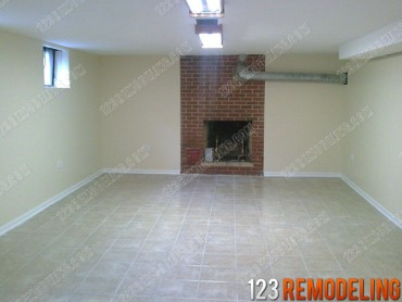 Professional Basement Tile Flooring