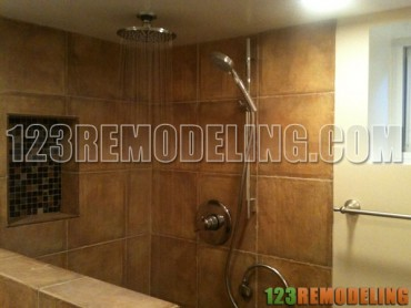 Bathroom & Basement Tile Refinishing