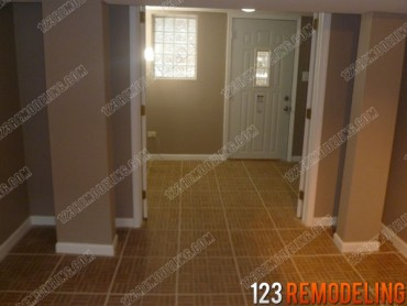 Basement Tile Flooring Installation