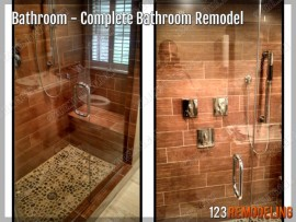 Complete Bathroom Remodel - 655 W Irving Park Rd, Chicago, IL  (Lakeview)