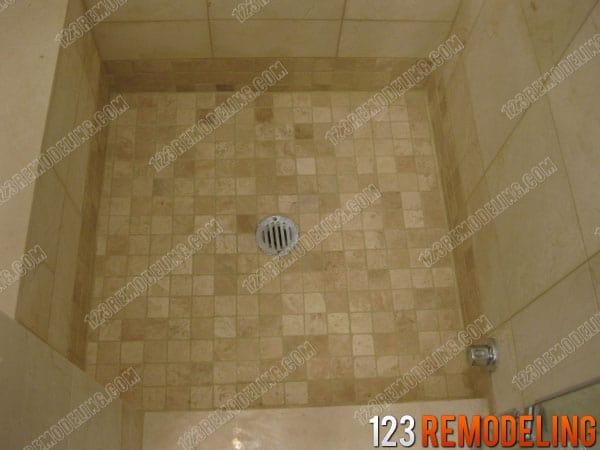 Shower Refinish Glenview Suburb