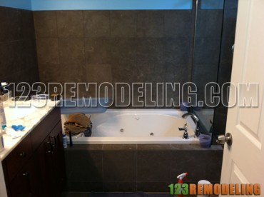 Master & Common Bathroom Tile Walls & Floor
