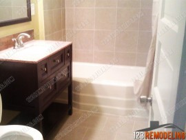 Bathroom Remodel - 1421 W Birchwood Ave, Chicago, IL (Rogers Park)