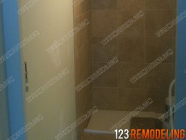 Winnetka Shower Tile Installation