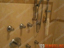 Steam Shower Install