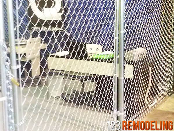 Commercial Chain Link Fence Installation