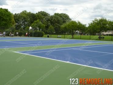 Evanston Tennis Court Repair