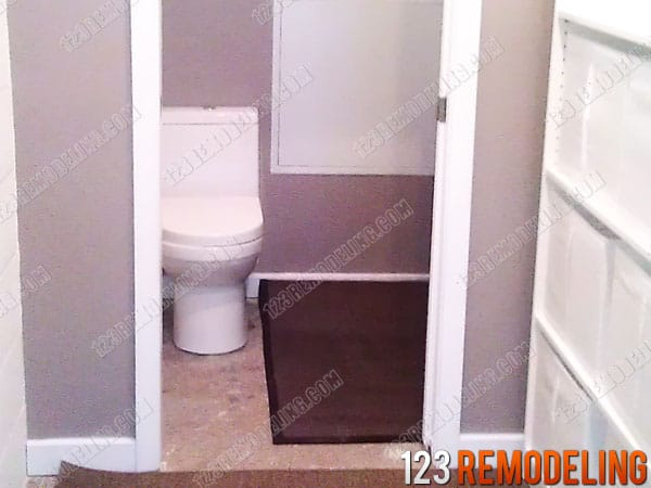 Commercial Restroom Construction