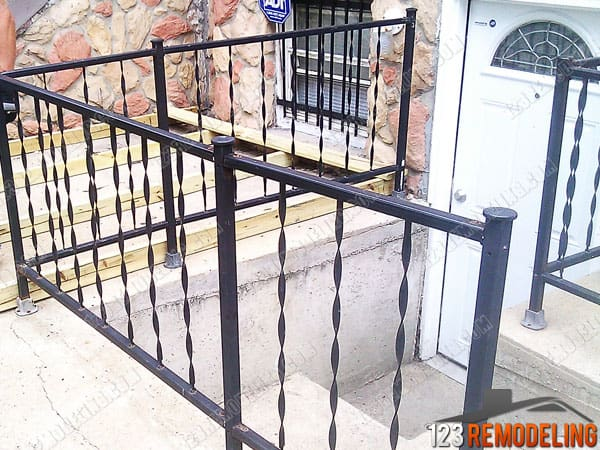 Wrought Iron Fence Installation Humbolt Park