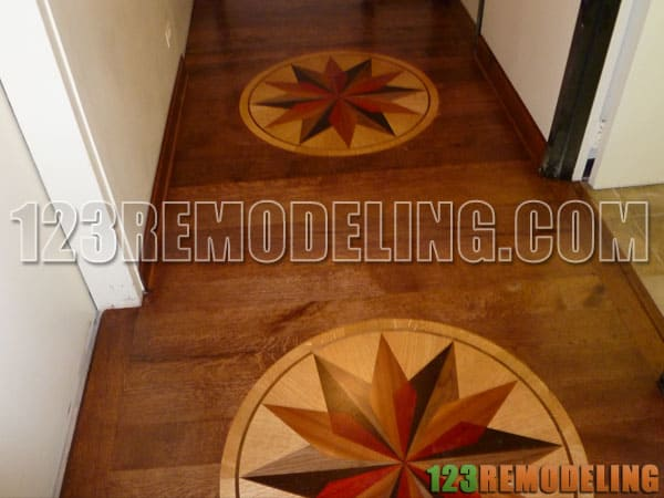 Lincoln Park Flooring Medallion