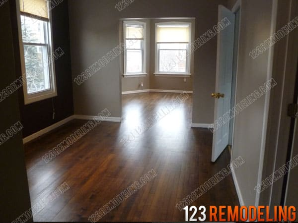 Logan Square Hardwood Resurfacing