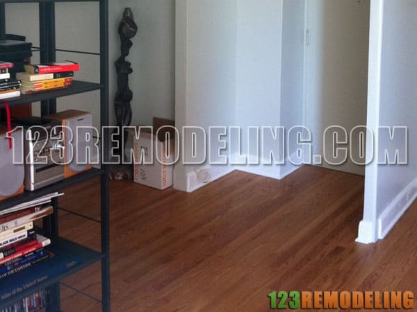 Condo Hardwood Flooring Old Town