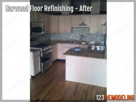 West Loop Hardwood Floor Refinishing
