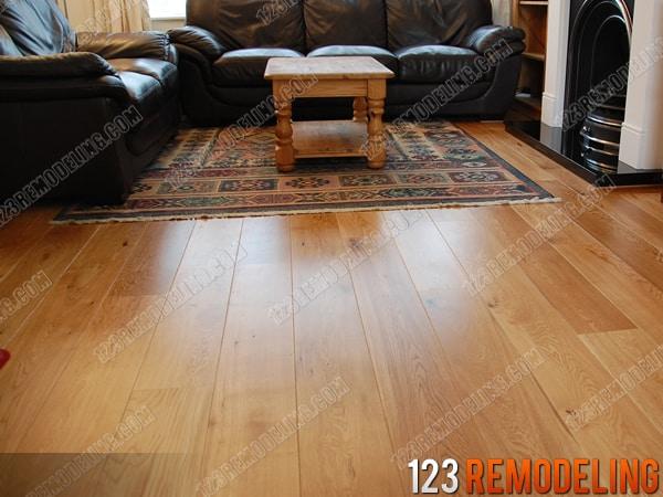 Modern Hardwood Floor Install