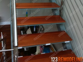 Modern Staircase Construction – Chicago, IL (River North)