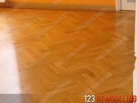 Condo Flooring Remodel – 807 Davis St, Evanston, IL (Sherman Plaza)