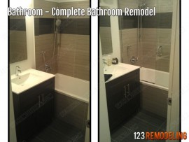 Condo Master Bathroom Remodel – 100 E Huron St, Chicago, IL (River North)