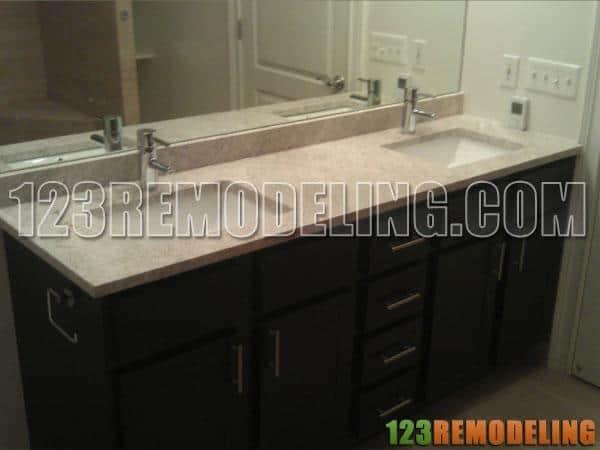 High Rise Modern Bathroom Remodel