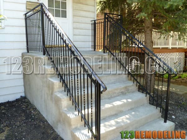 Concrete Staircase & Porch
