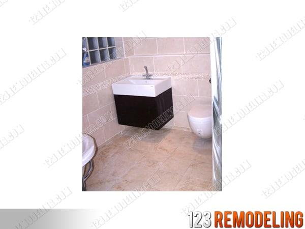 condo bathroom finished renovation