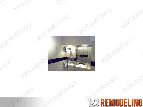 condo bathroom after remodel