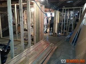 Kitchen Area Construction