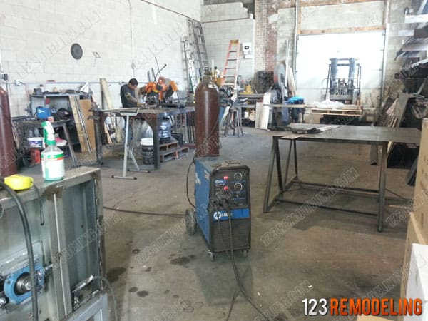 Metal Fabrication Shop