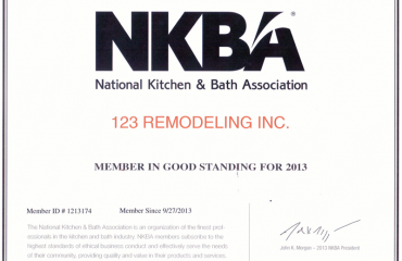 Proud Member of Kitchen & Bath Association