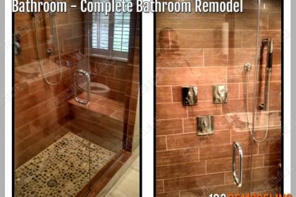 Condo Bathroom Construction