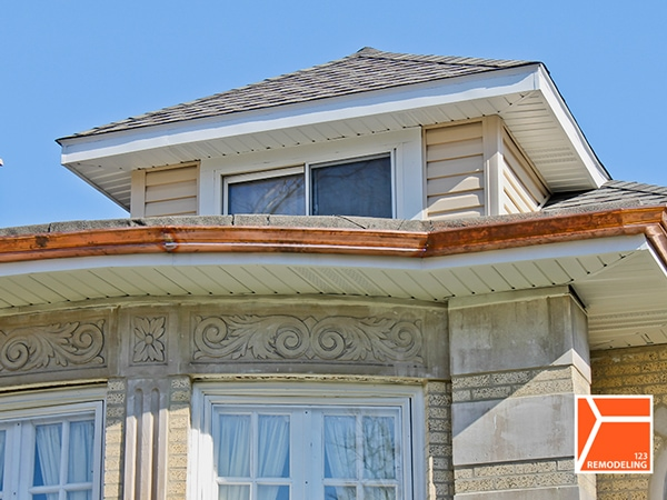 roof gutter replacement chicago remodeling