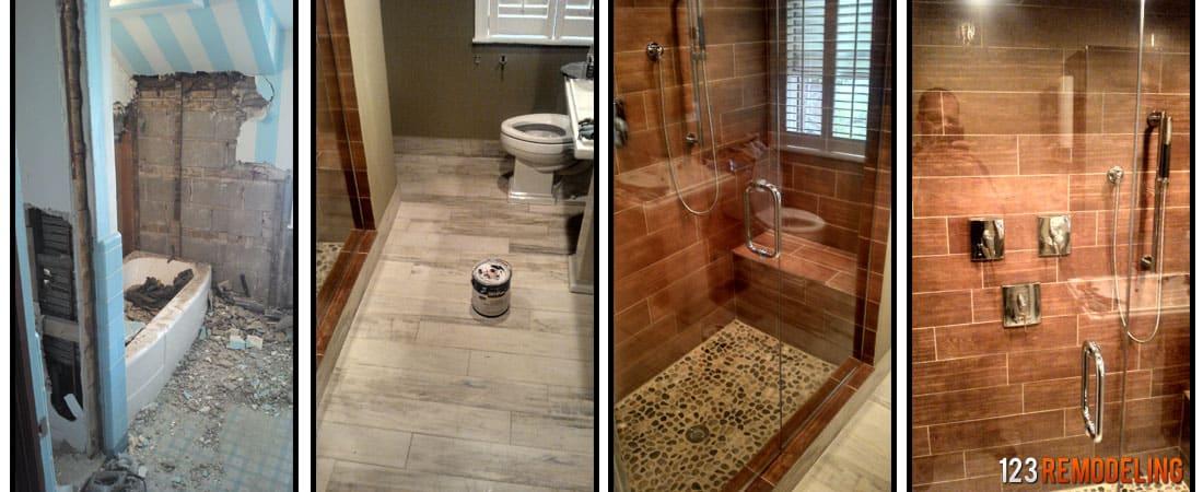 Bathroom Remodeling - High Range $25,000 and Up